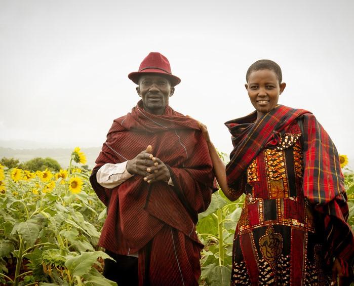 Timothy sunflower farmer trio.jpg