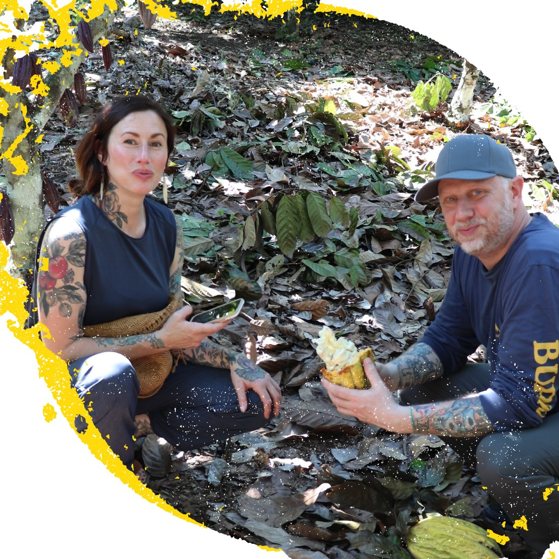 KYLE & KATINA CONNAUGHTON X PERU - Husband and wife team Kyle and Katina Connaughton of SingleThread Farms visited Peruvian cocoa and coffee farmers to find out how they are harnessing the power of these extraordinary beans to grow their families out of poverty.SEE NOW
