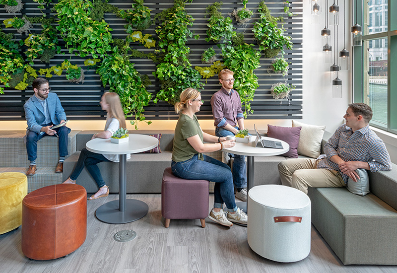 How to get comfortable in today's work environment. - A lot has changed in the work environment over the years. Offices turned into cubicles, then cubicles turned into open work spaces. Even the way employees work at their jobs has changed.