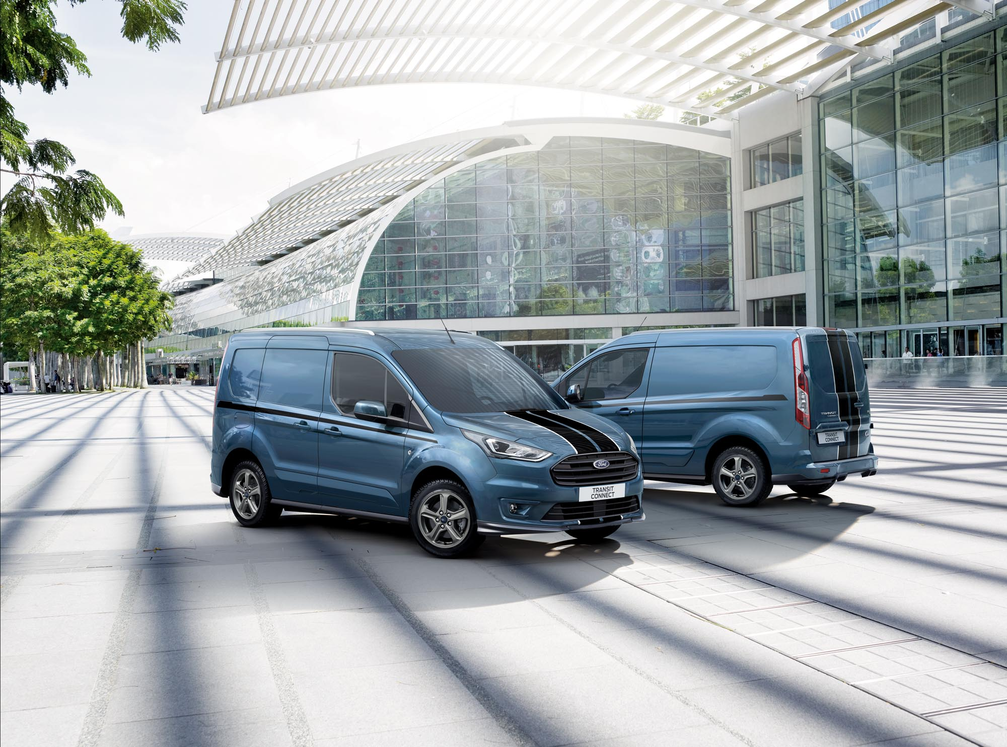 Photography Production by Luke Jackson for Ford Vans