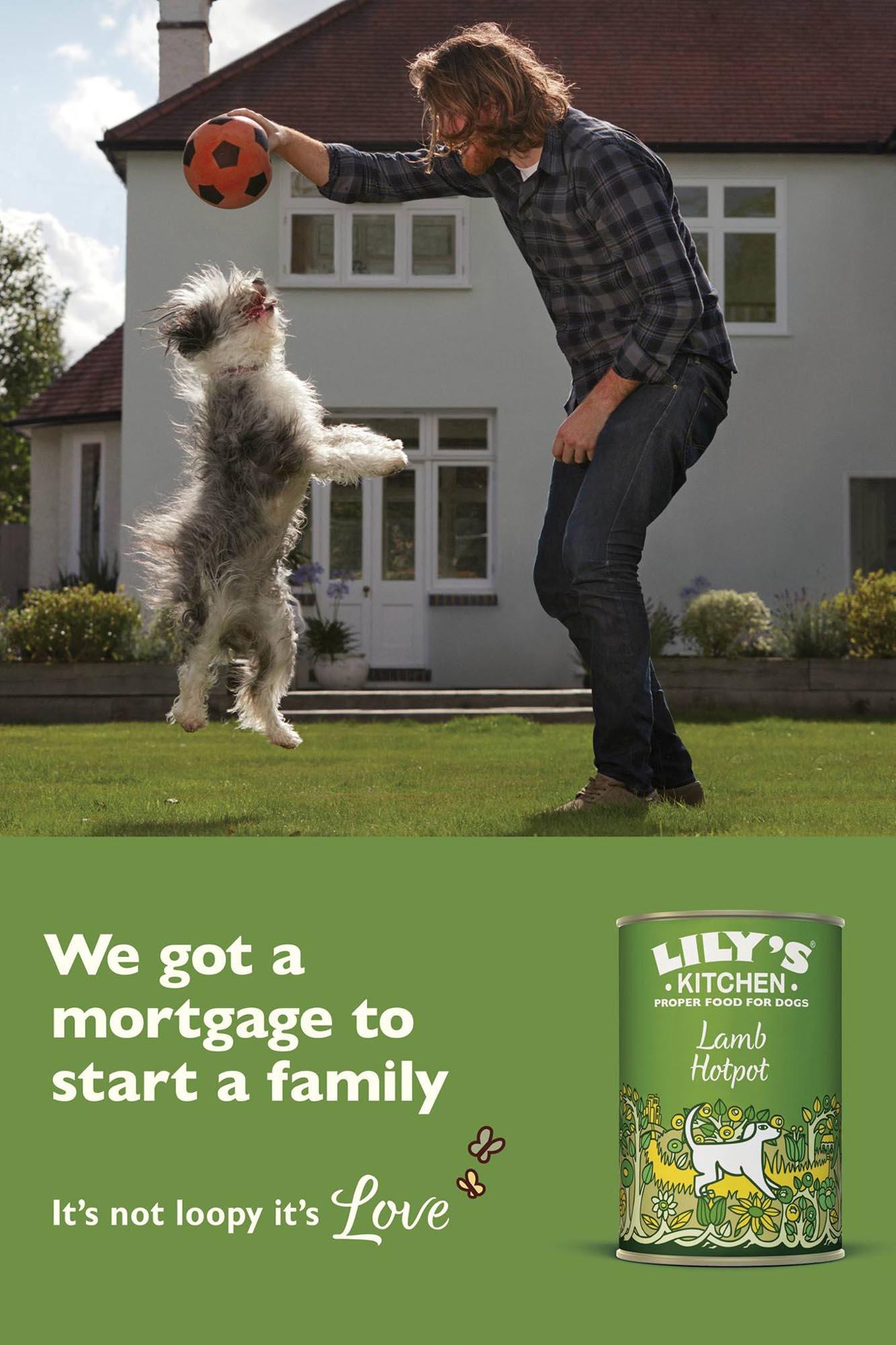 Lilys Kitchen Advert Photography Production by Luke Jackson