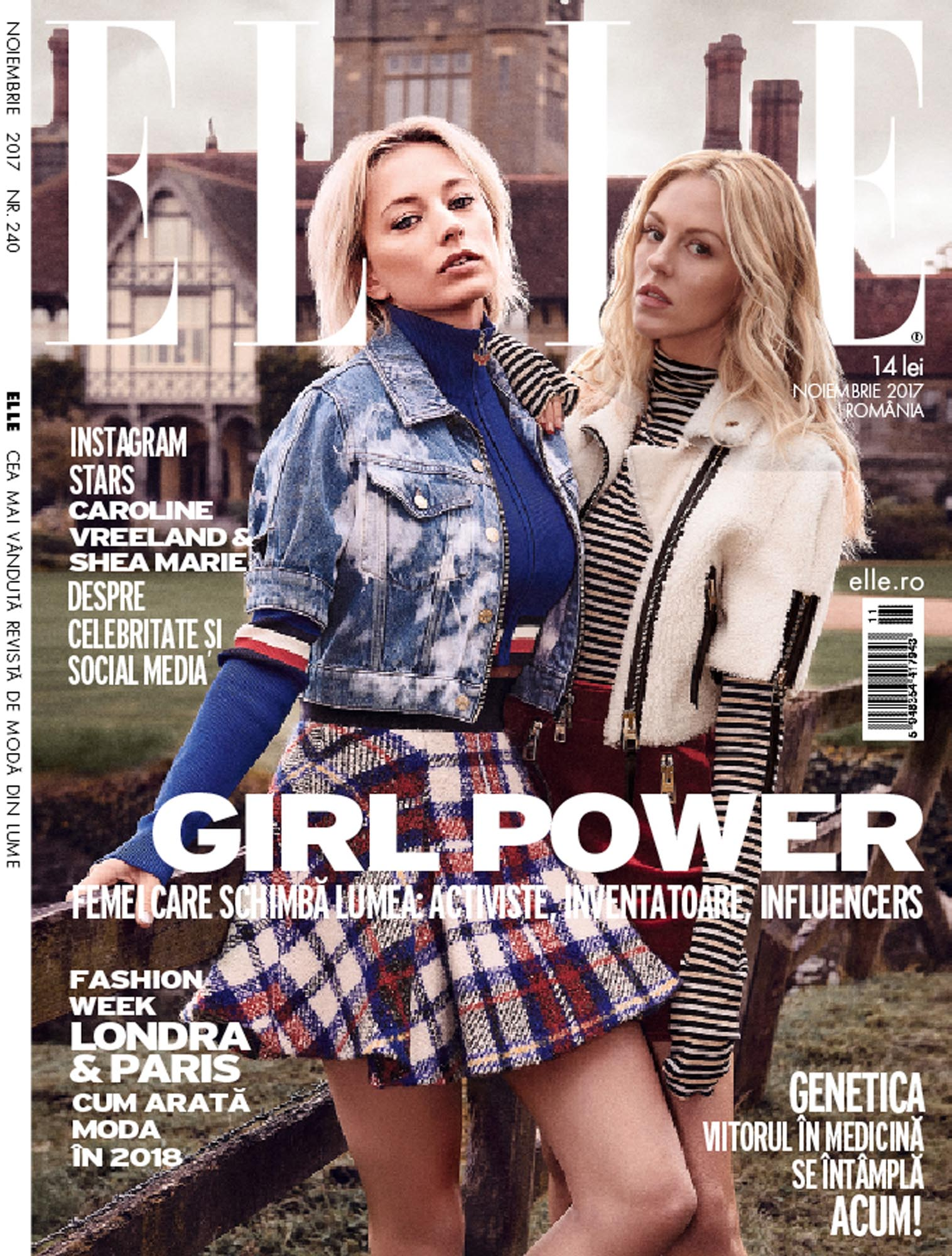 Elle Romania Cover Photography Production by Luke Jackson