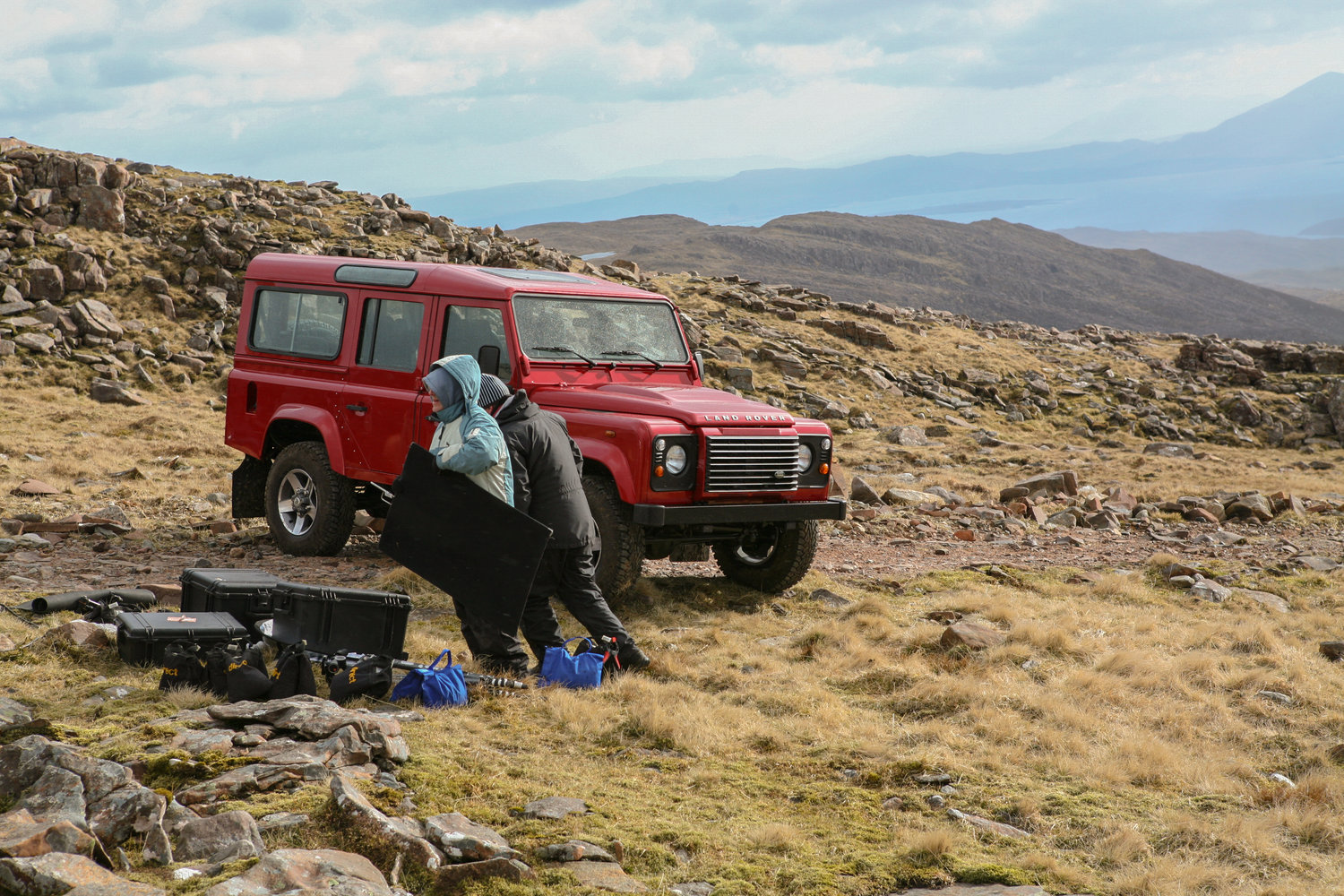 Landrover Defender Advertising Campaign - Photographic Production by Luke Jackson