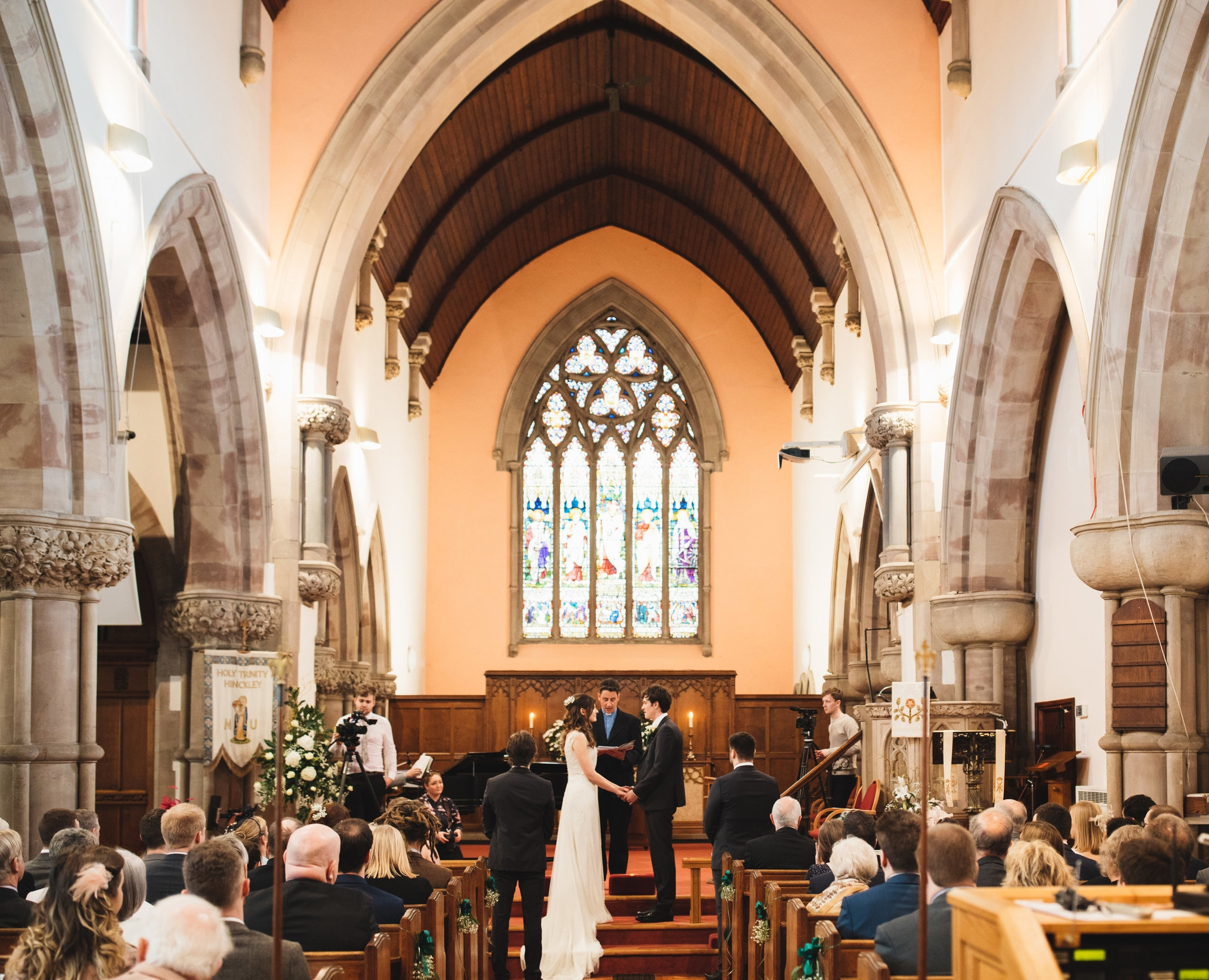 Getting married at holy trinity -
