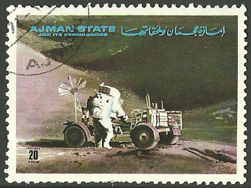Source: 1972 Stamps of Ajman, Copyright Alf van Beem