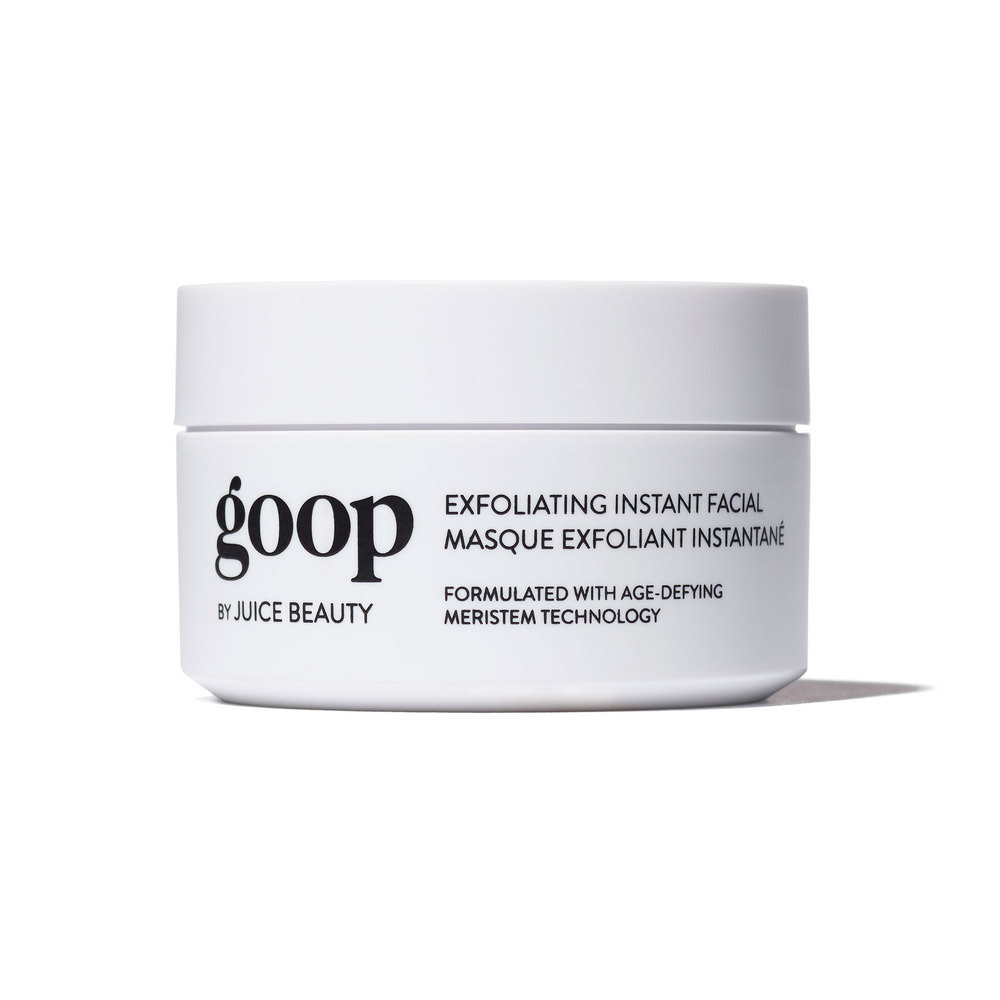 Goop Exfoliating Instant Facial , $125  I am OBSESSED with this mask, which brightens and softens my skin like nothing else I've tried before. Well, if it's good enough for Gwyneth...