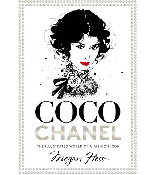 Coco Chanel: The Illustrated World of a Fashion Icon , $16.96  Renowned fashion illustrator Megan Hass brings a whimsical slant to the Chanel story in this divine coffee table book.