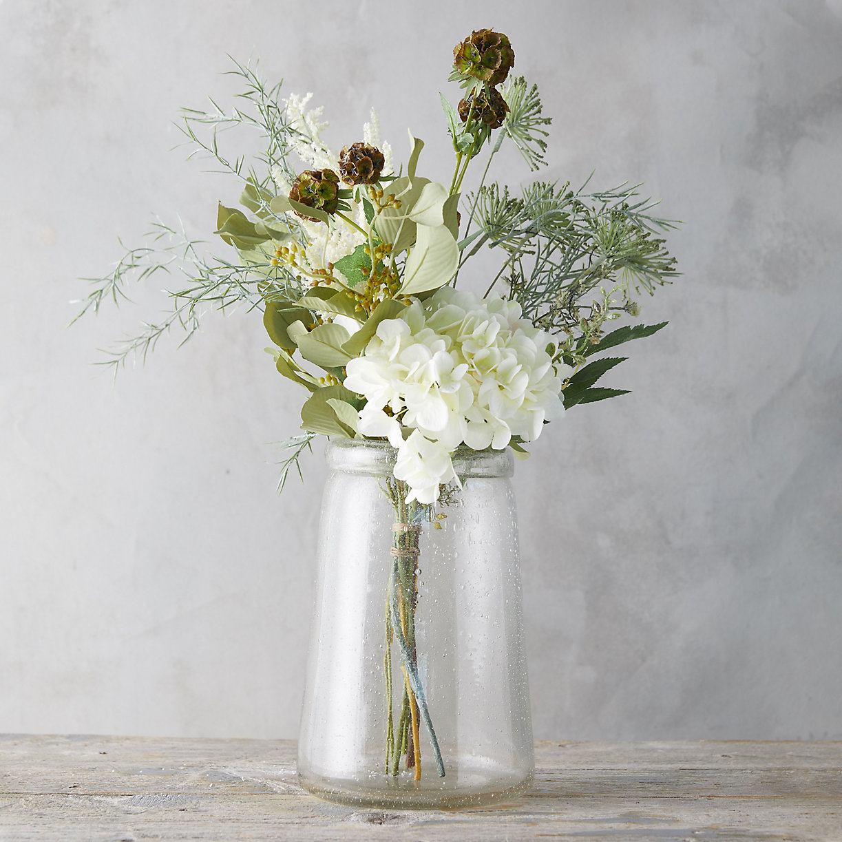 Make a statement with these stunning faux flowers. We won't tell they're fake if you won't…