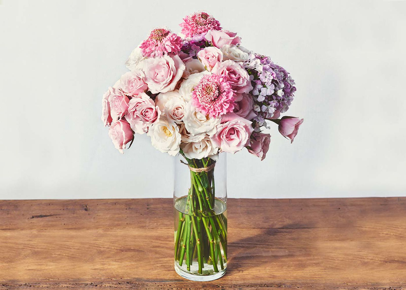 What could be more indulgent than a monthly flower delivery?