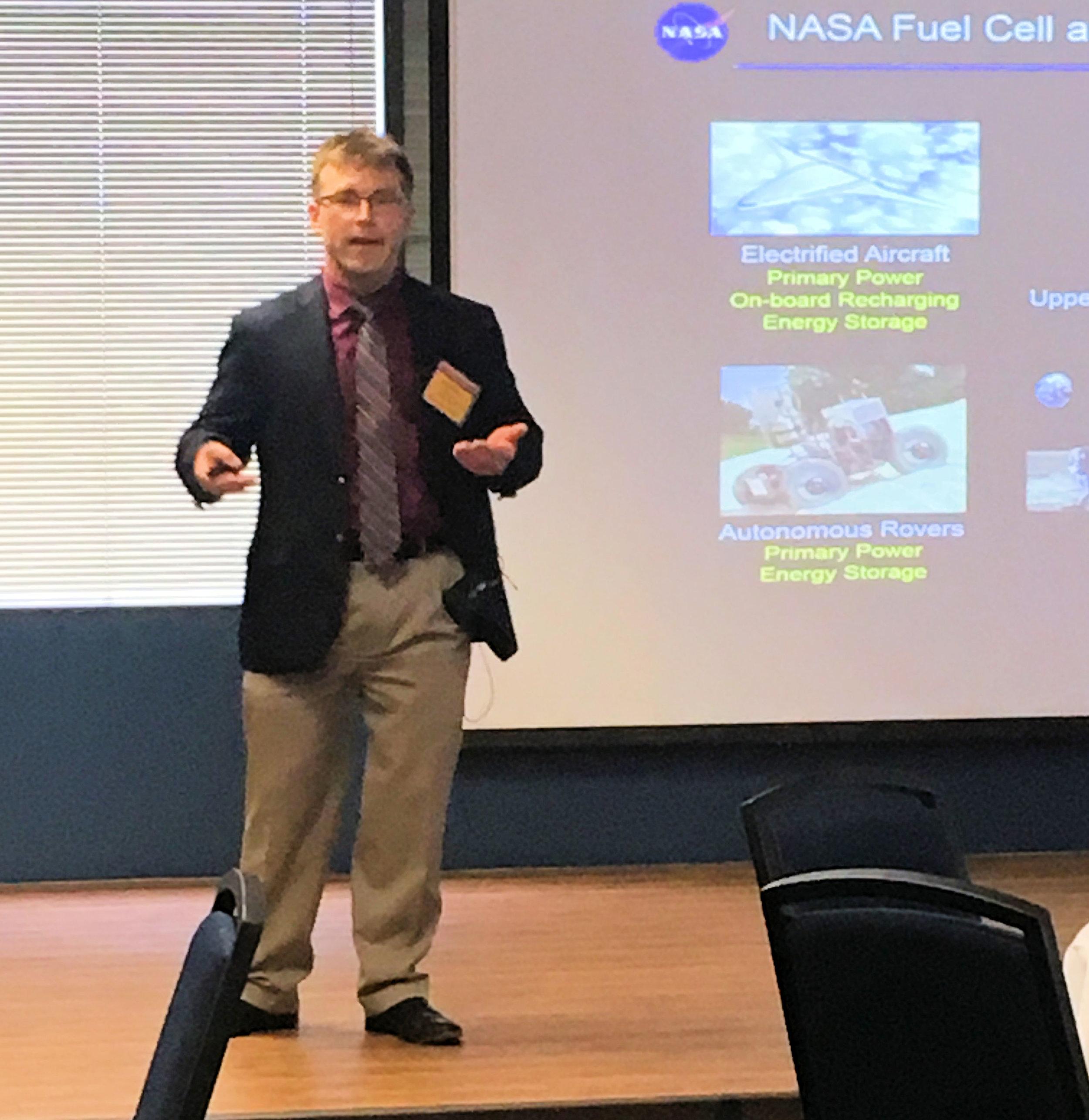 Ian Jakupca - NASA