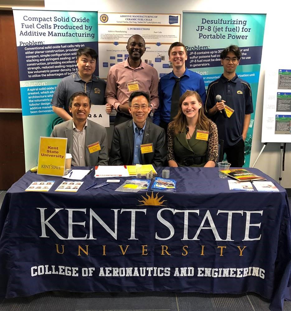 Dr. Yanhai Du & Kent State students Exhibit