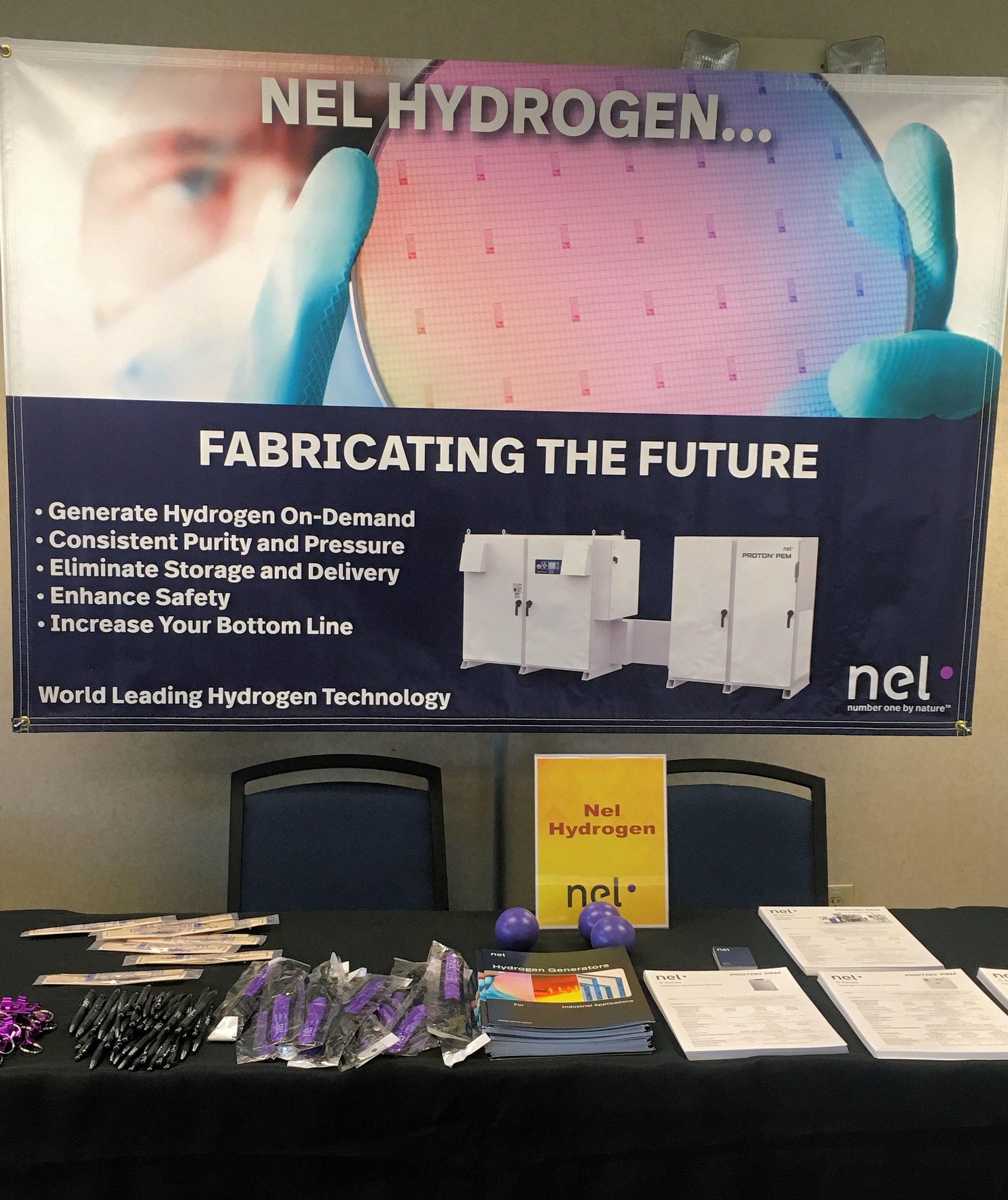 Nel Hydrogen exhibit