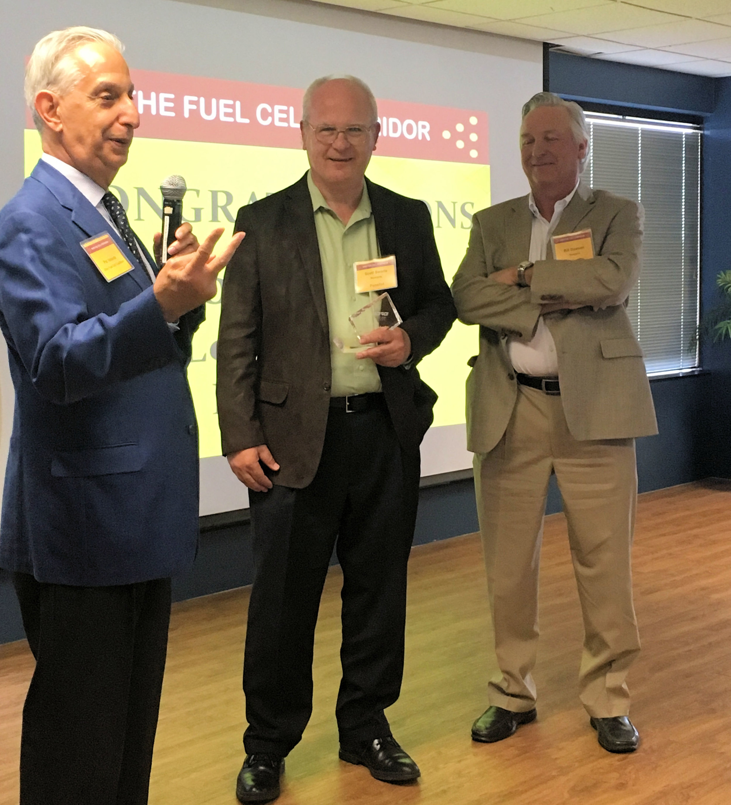 Dr. Scott Swartz Leadership Award w/P. Valente & W. Dawson