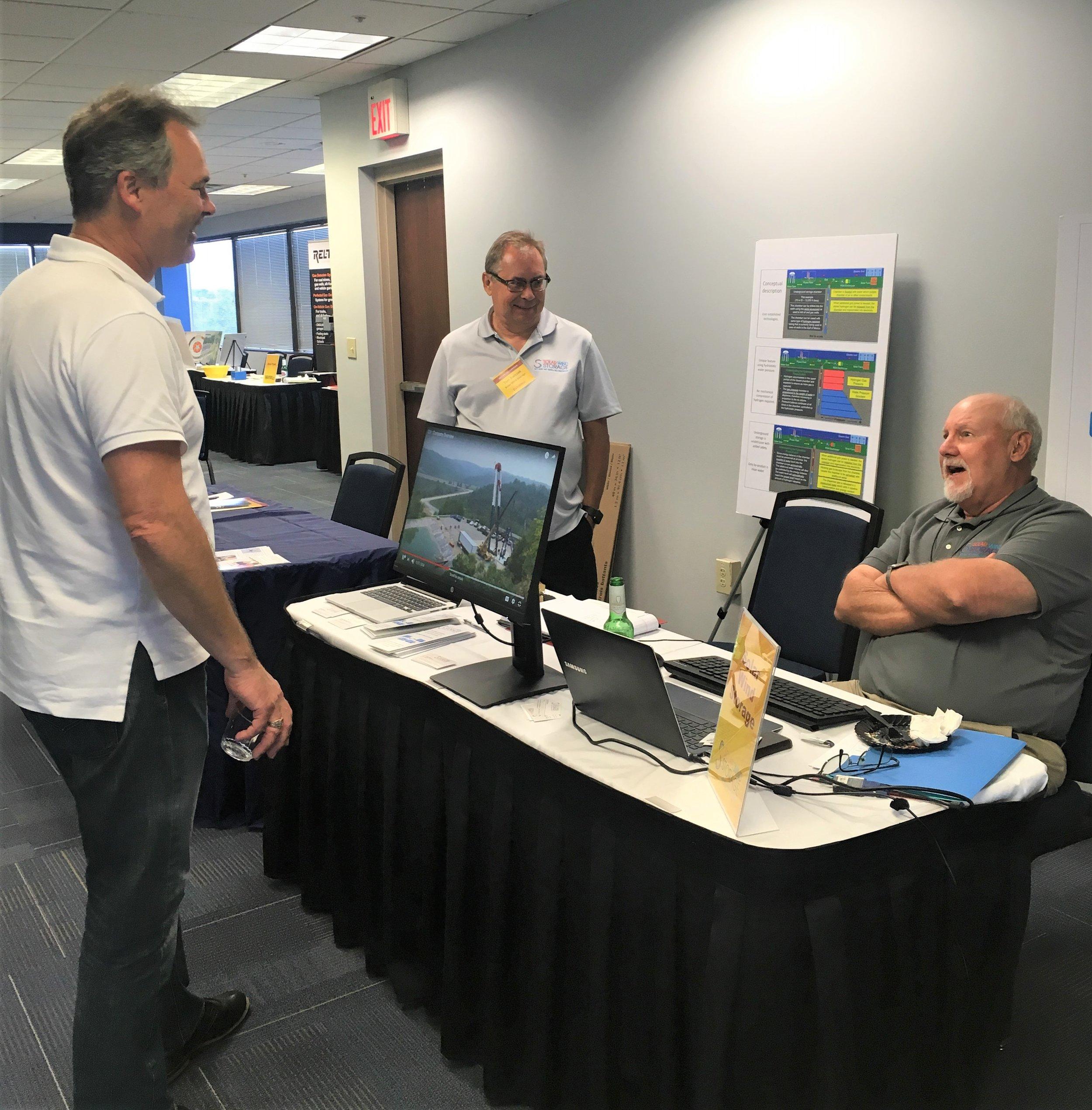 Solar Wind Storage exhibit