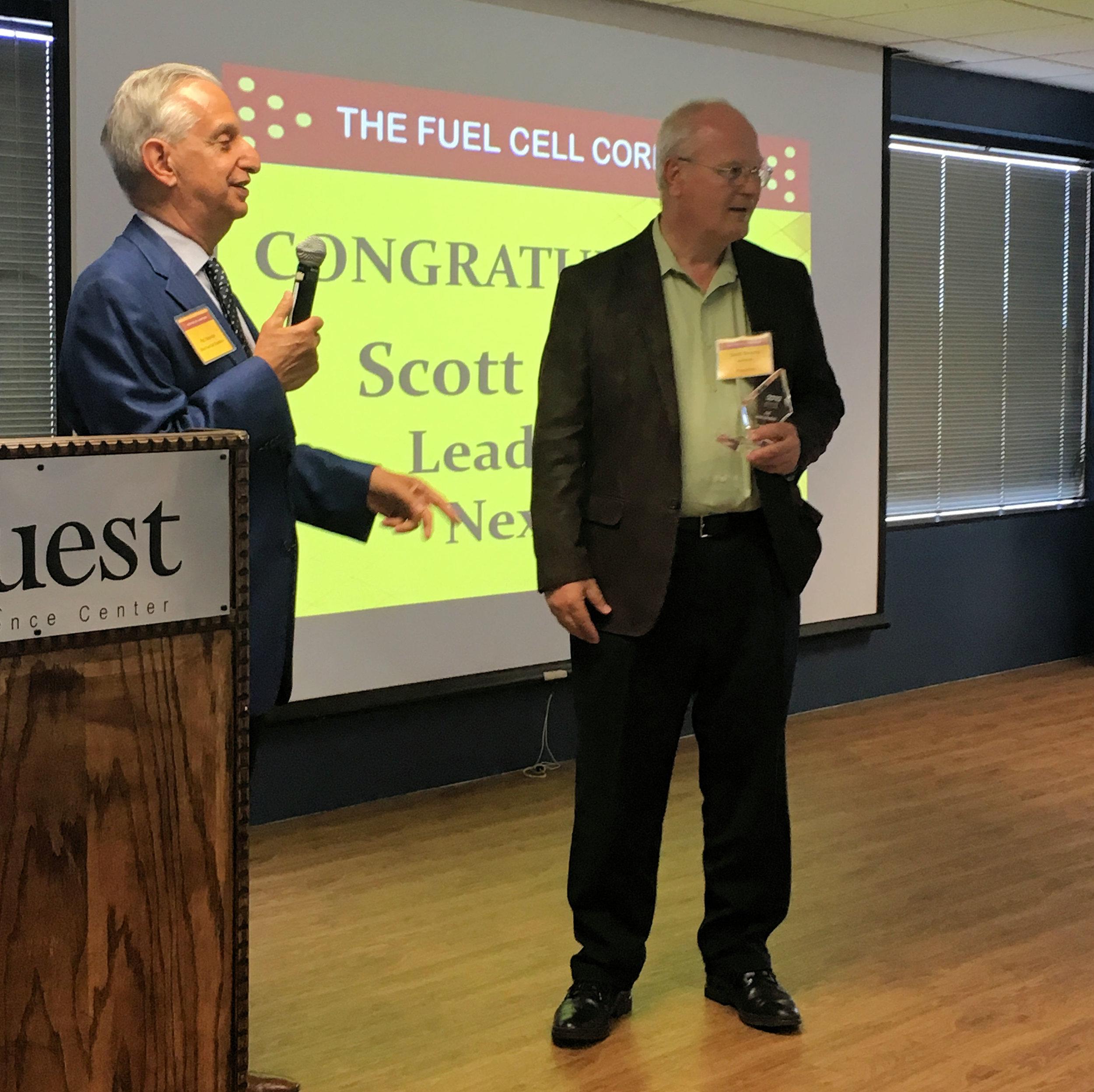 Dr. Scott Swartz - Nexceris - OFCC Leadership Award