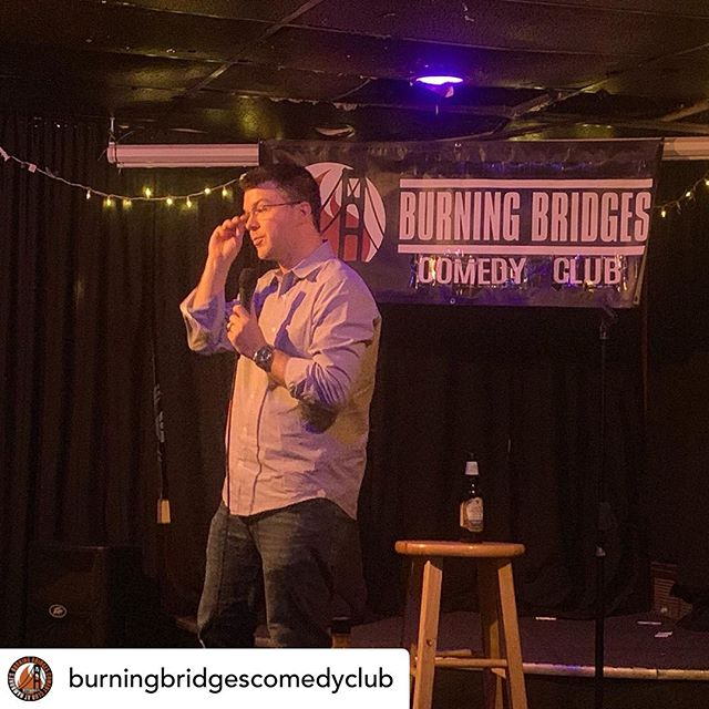 Posted @withrepost • @burningbridgescomedyclub Everyone is crushing it here at the only Independent Comedy Club in #Pittsburgh