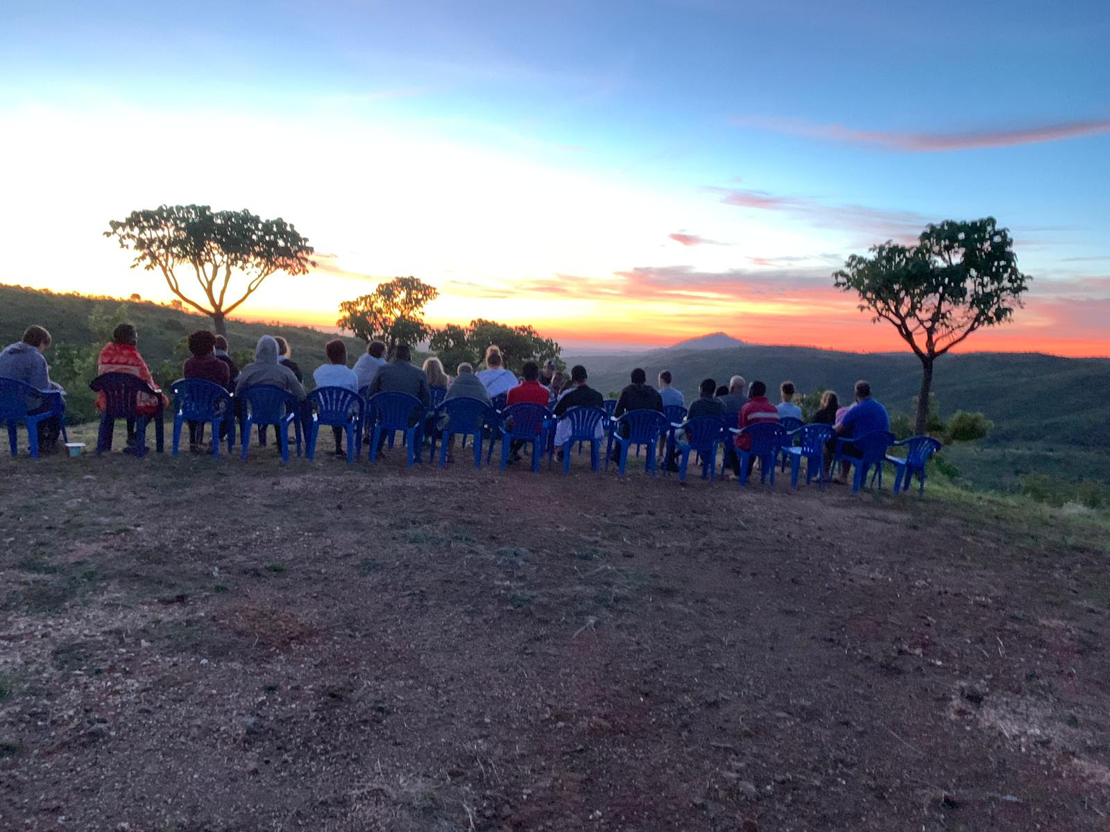 Sunrise Easter service with all our team and students. The students were on break from Friday to Monday, and we were able to spend time getting to know them better, serve them food, and share with each other stories of what God has done in our lives!