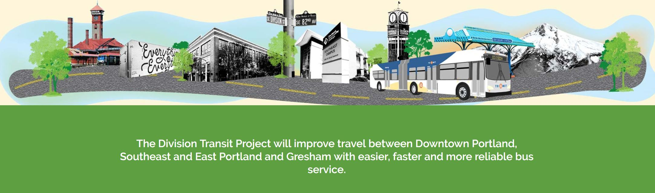 Division is getting an  expansive transit improvement  to make commuting downtown and accessing SE even easier!