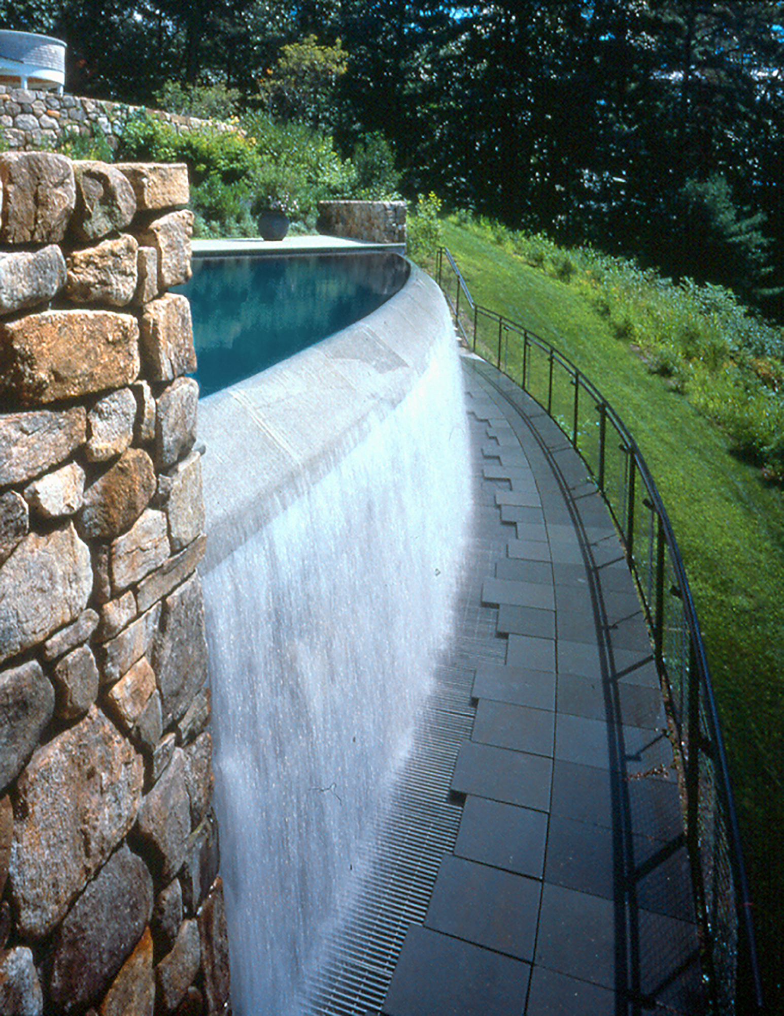 Infinity Edge Pool  Cascade Pool ( Ten Landscapes ) Concord, MA