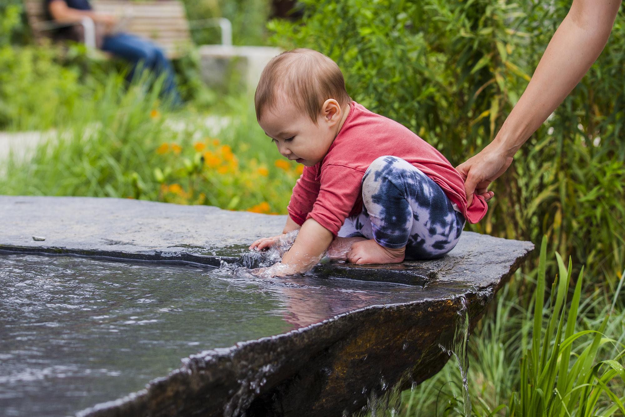Fountain  Pulaski Park Northampton, MA