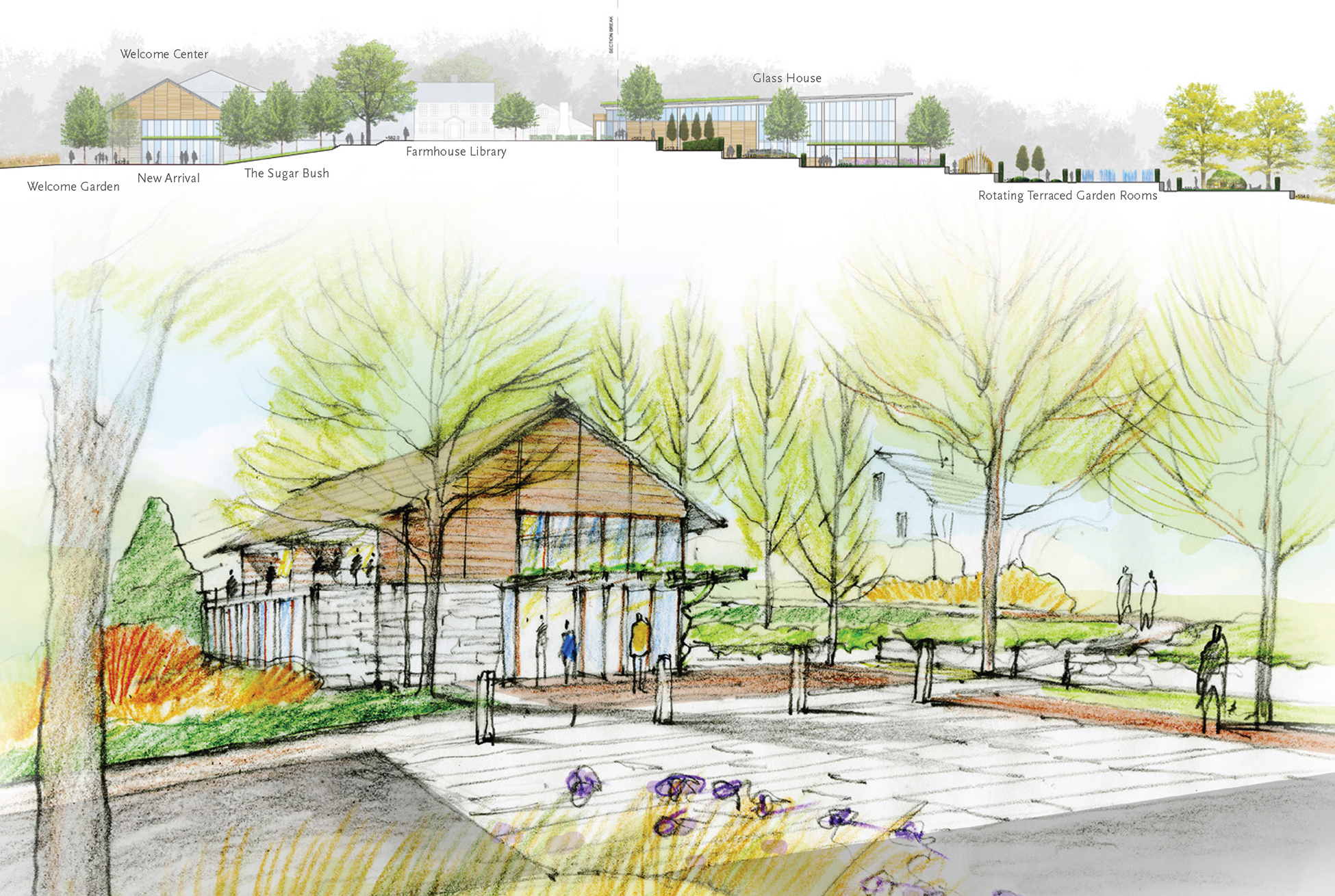 Tower Hill Botanic Garden Master Plan Stimson