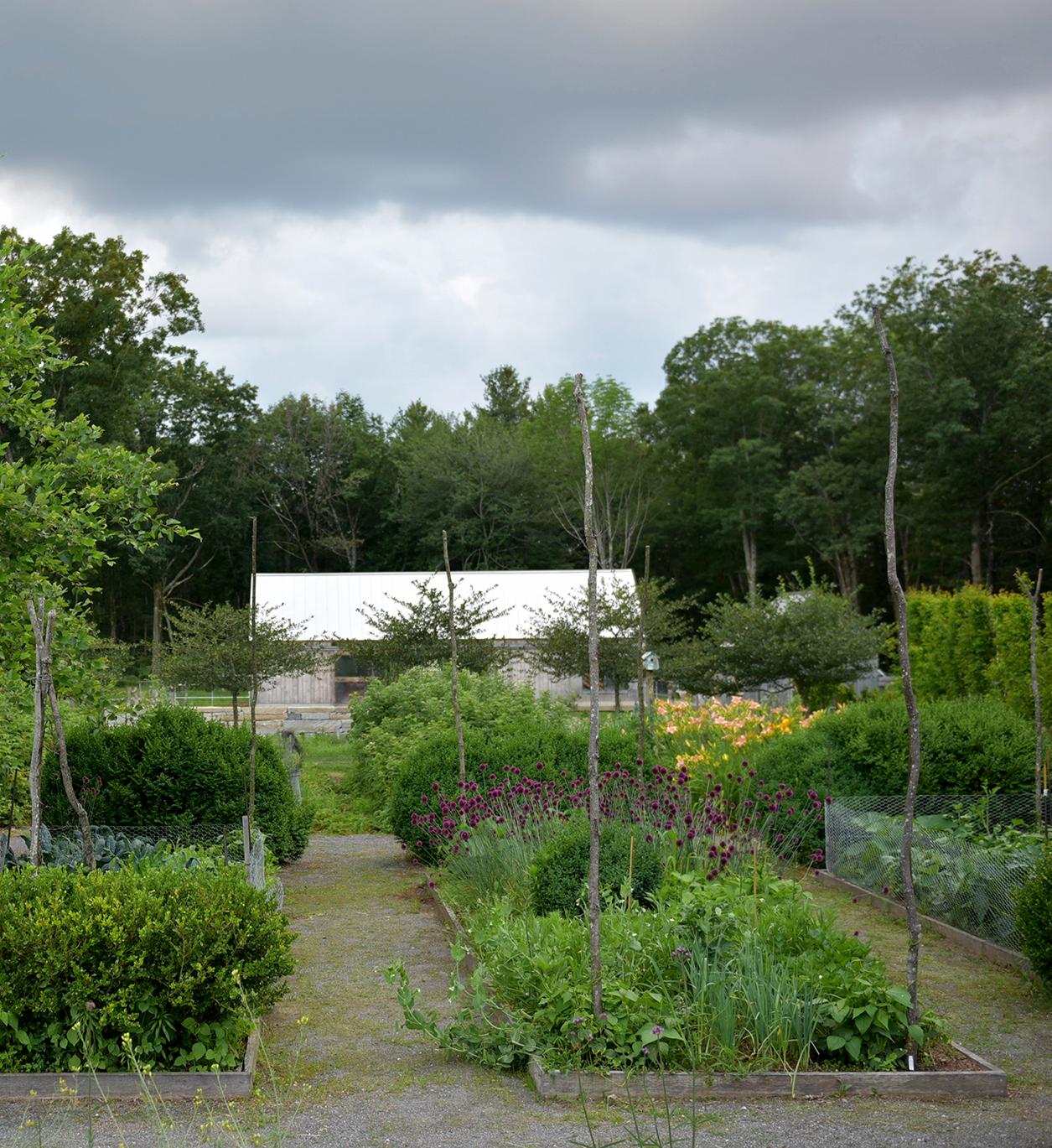 Vegetable Garden  Charbrook Farm Princeton, MA