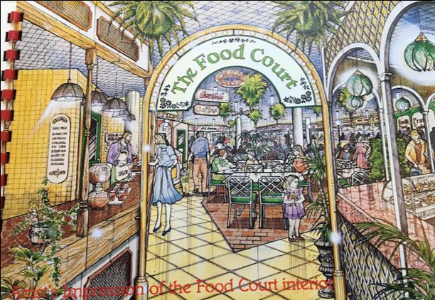 Artist's impression of Eastgate Food Court