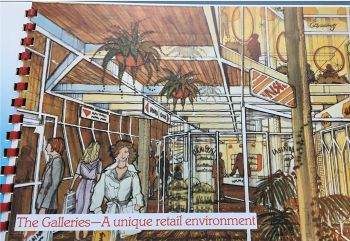 Artist's impression of 'The Galleries'