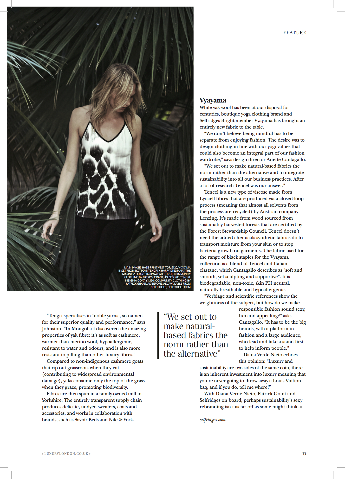 Originally published by The Mayfair Magazine