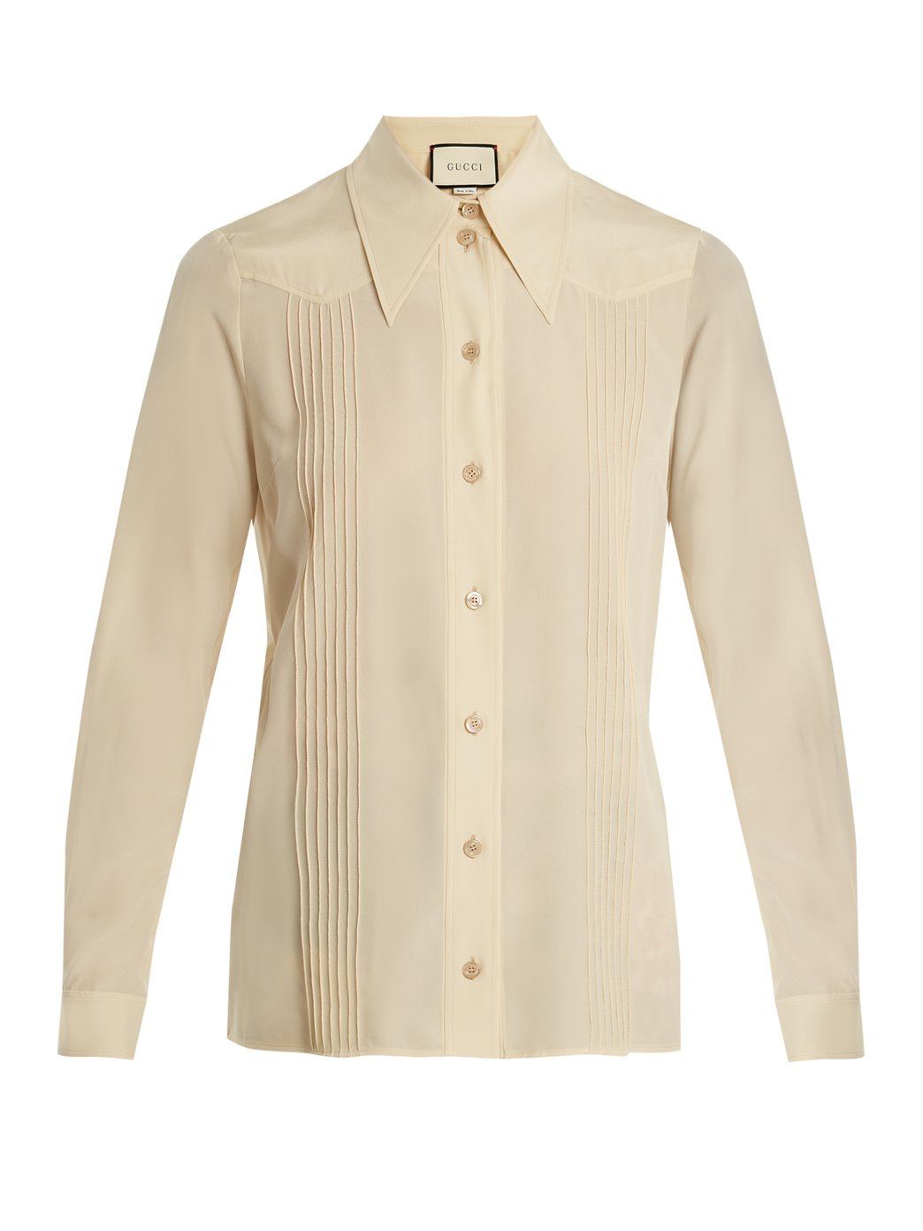 GUCCI Silk Shirt, £790