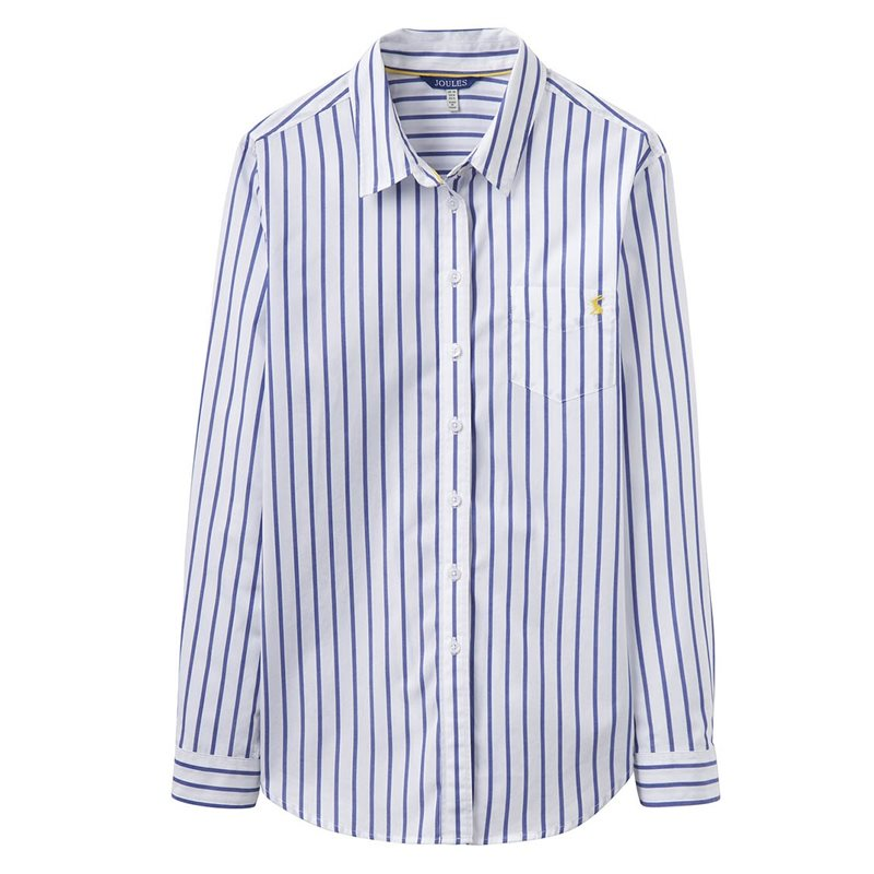 JOULES LUCIE Classic Stripe Shirt, £32