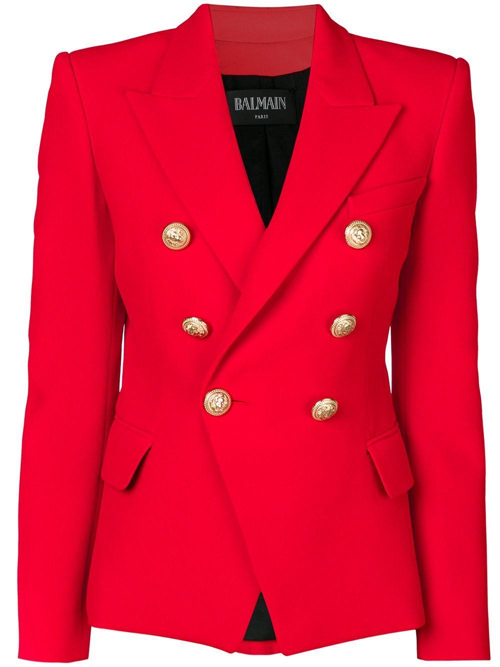 BALMAIN Double-breasted Jacket, £1,450