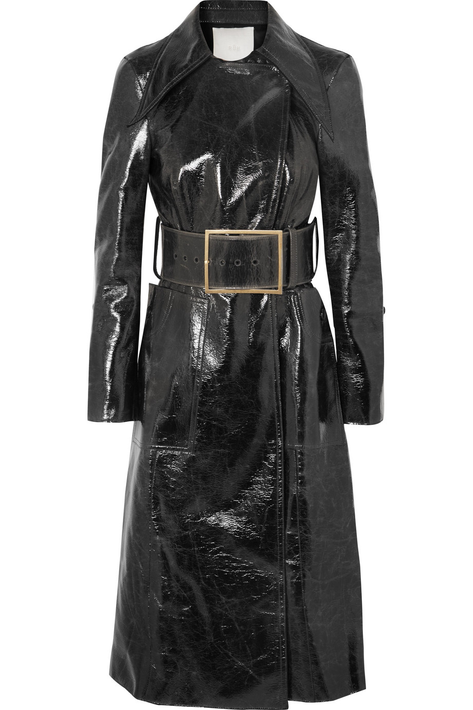 RŪH Coated wool-blend trench coat, £995