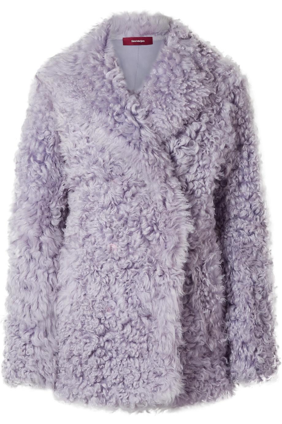 SIES MARJAN Pippa shearling coat, £2,195