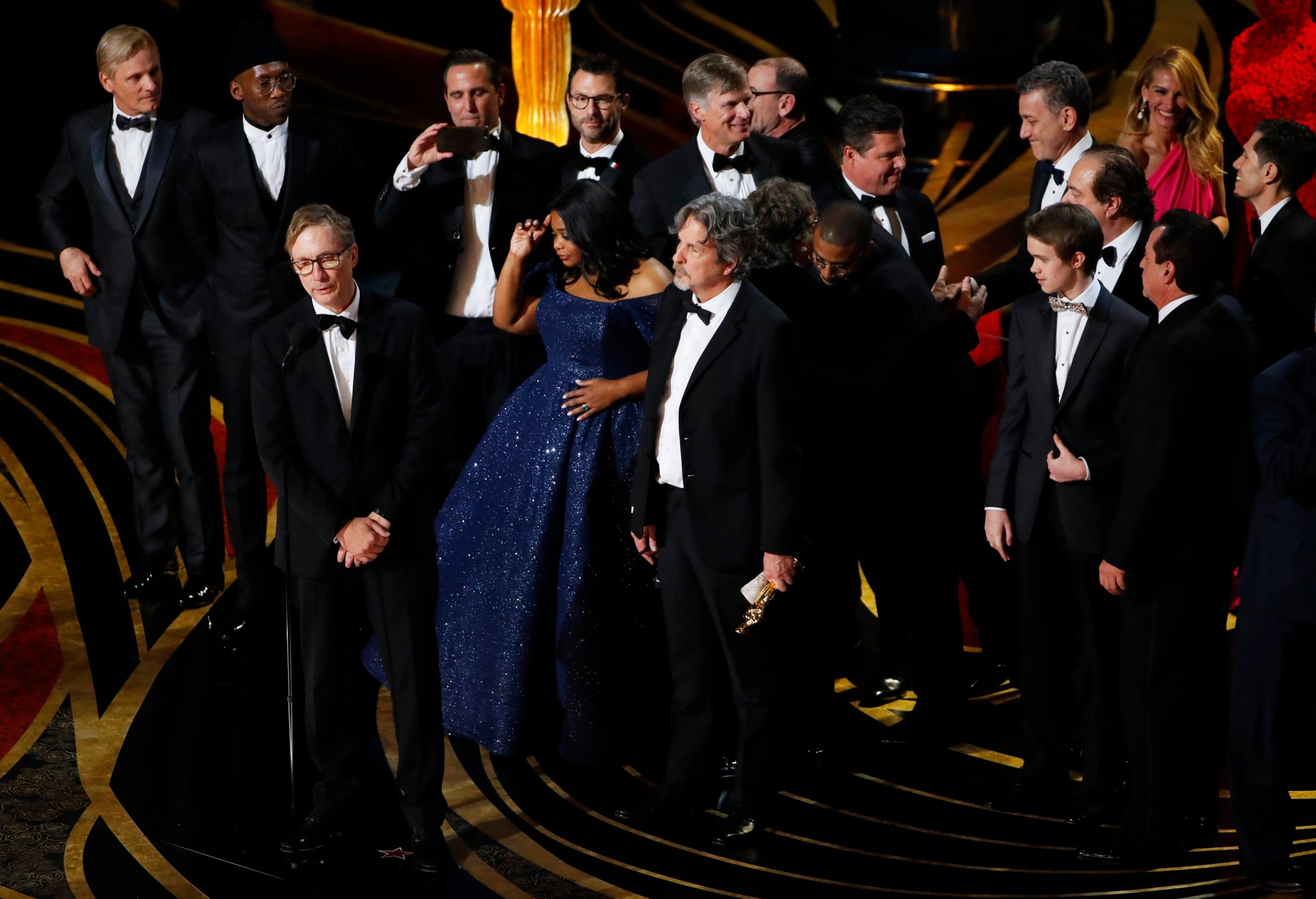 The Best Picture award for Green Book
