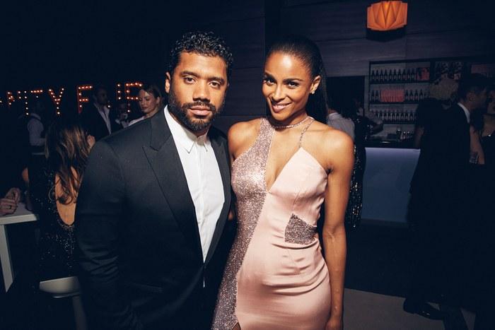 Russell Wilson and Ciara. Photo: Justin Bishop