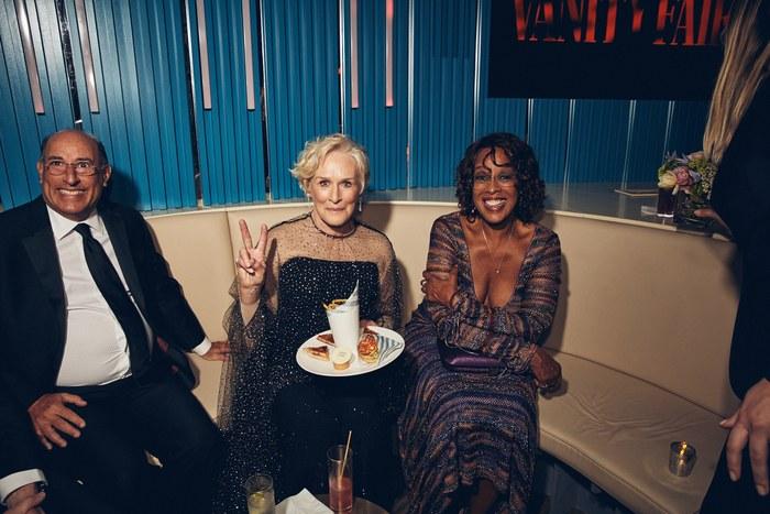 Glenn Close and Gayle King - Image: Justin Bishop