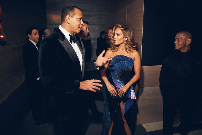 Alex Rodriguez and Jennifer Lopez Image: Justin Bishop