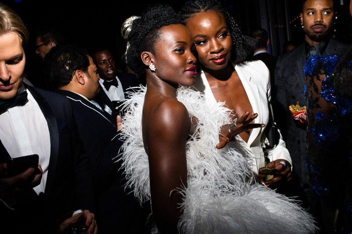 Lupita Nyong'o and Danai Gurira - Image: Landon Nordeman