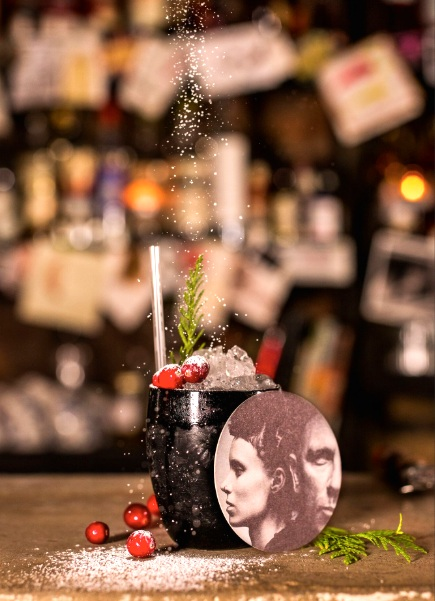 The Girl with the Dragon Tattoo cocktail