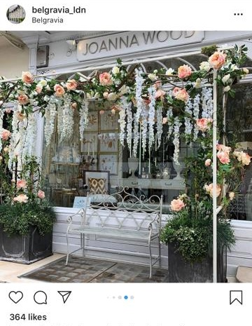Joanna Wood in Belgravia