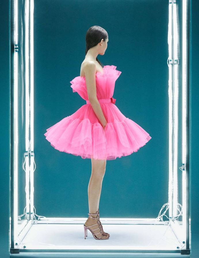 LOOK N° I FLARED TULLE DRESS €249.00