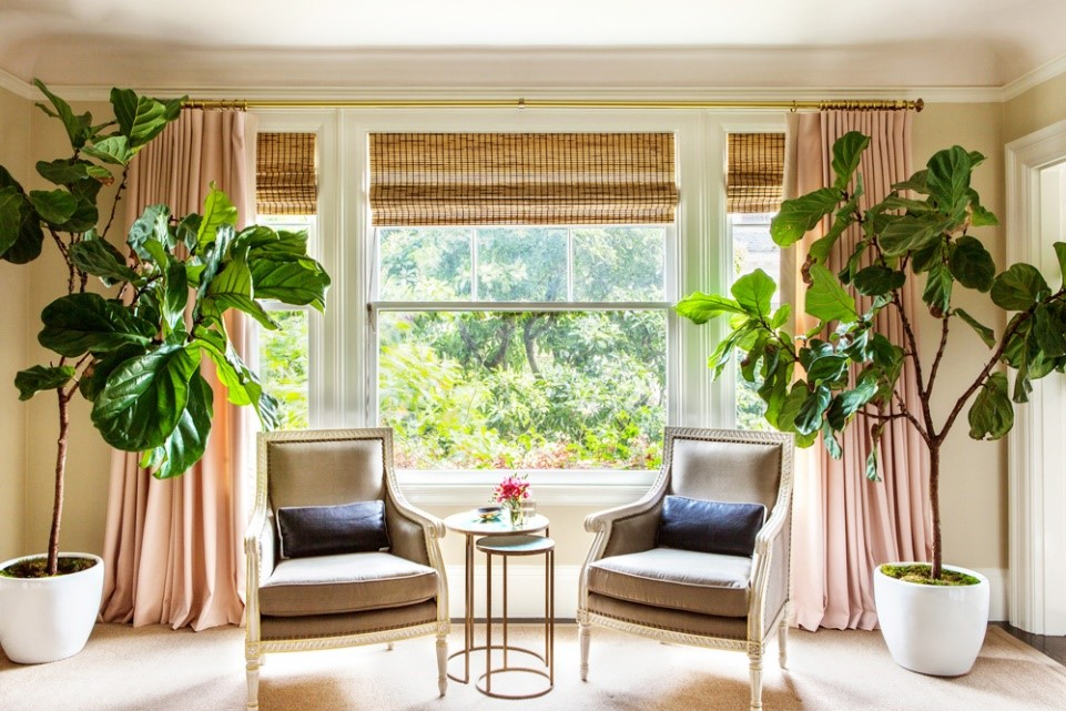 Fiddle Leaf Interior Inspiration. Image: Kathy Kuo Home