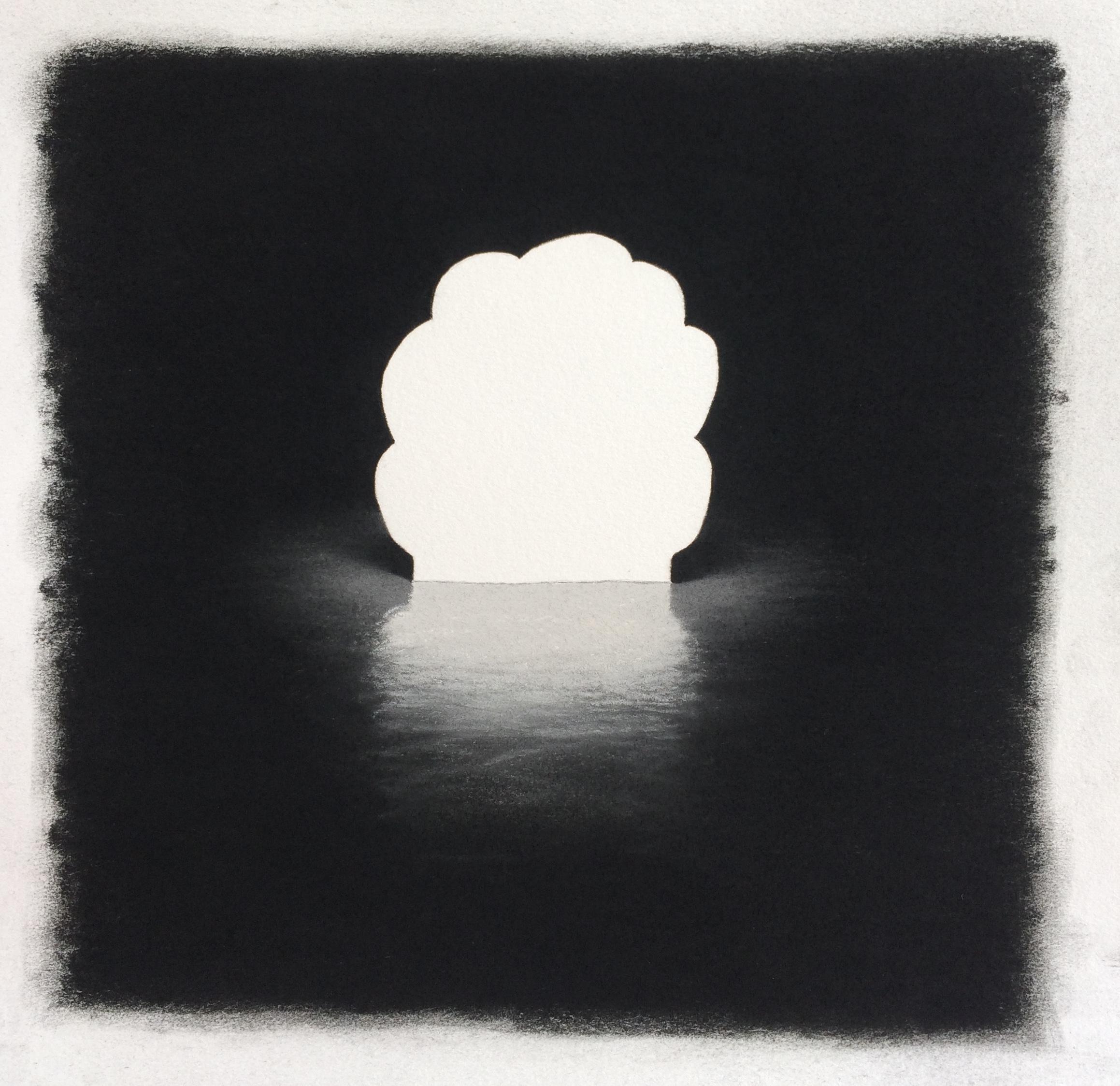 "Cali , Pastel on Paper, 10.5""x10"", 2018"
