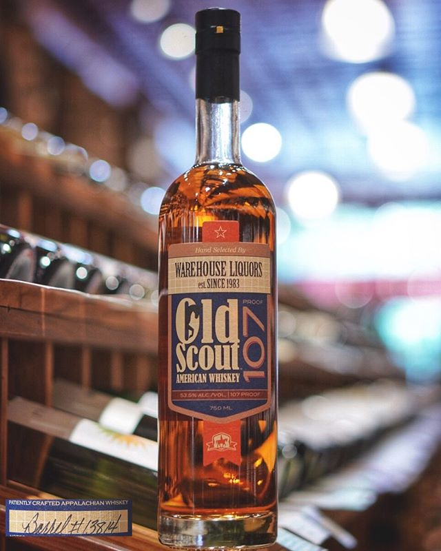 Our second single barrel of MGP-sourced Old Scout 107° is now available!!! This is Barrel #13814