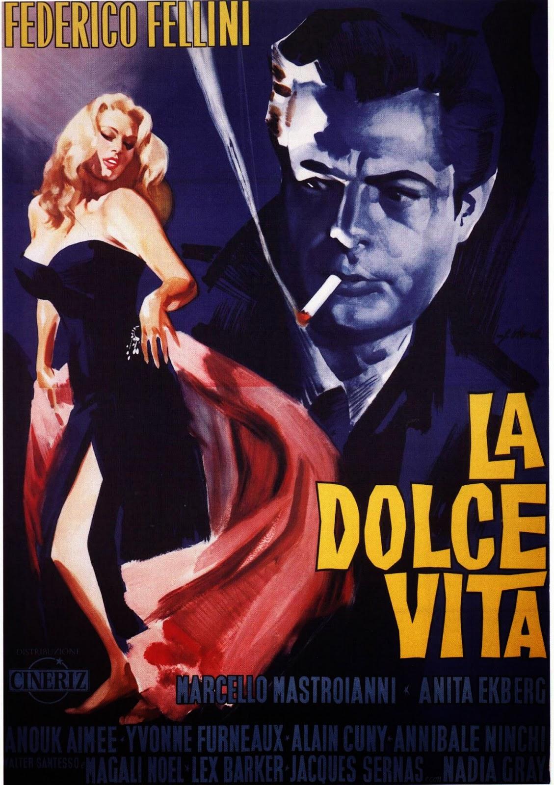 La Dolce Vita - Federico Fellini shot in Capranica different scenes for his famous films Le Luci del Varietà (1950) and La Dolce Vita (1960). The village of Capranica in fact embodies, for a few eternal moments, in the director's films, the quintessence of the Italian landscape.