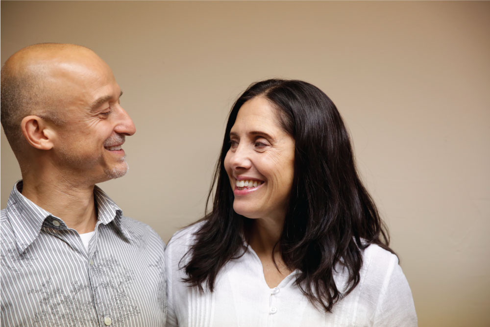 Niko and Gina have been practicing since 2007 and 2006, and now teach together too