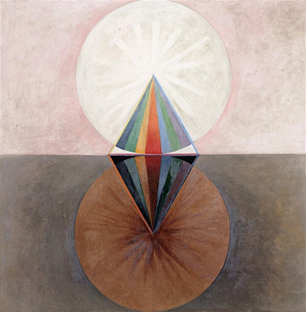 Hilma af Klint, The Swan, No. 12
