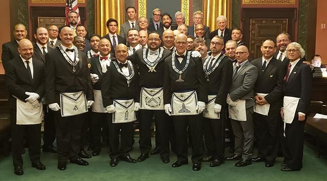 Publicity Lodge #1000 1000th Stated Communication.  #nymasons