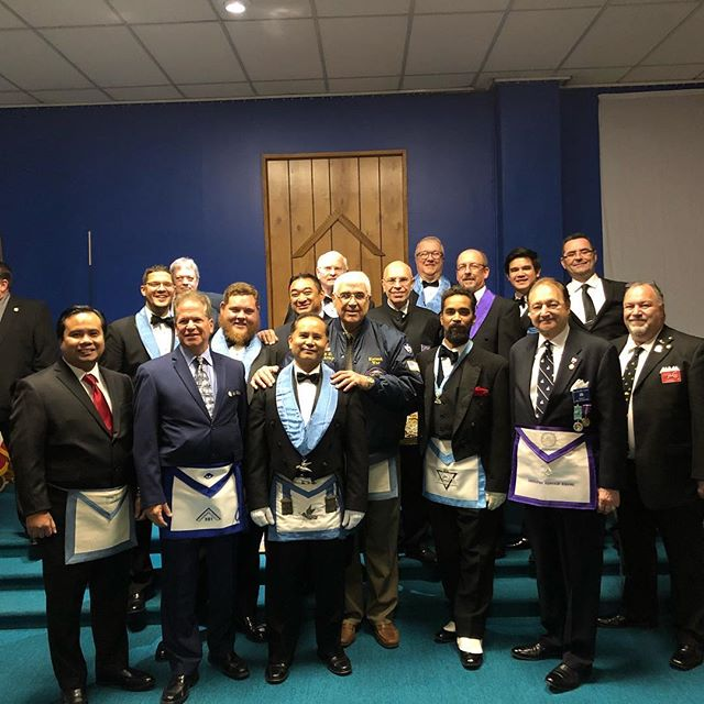 Square Club / 4th Manhattan District visits Whitfield Lodge No. 622 in #tatamy PA. #nymasons